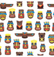 cartoon traditional religious totem background vector image