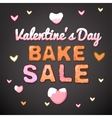 Valentine Bake Sale 01 A vector image