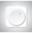 Volume app icon vector image