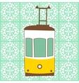 Traditional Lisbon tram vector image vector image