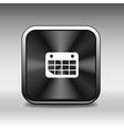 calendar icon Flat design with long shadow vector image