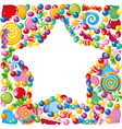 candy star vector image vector image