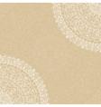 beige background with napkin vector image