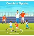 Kids Sport Poster vector image