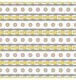 Circle seamless pattern 1 vector image