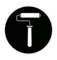 paint roller handle renovation decoration element vector image vector image