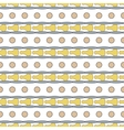 Circle seamless pattern 1 vector image