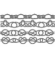 sea knott pattern vector image