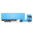 truck semi trailer 04 vector image