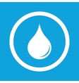 Water drop sign icon vector image