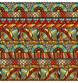 Ethnic seamless pattern with hand drawn ornament vector image