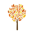 Tree Icon on white background Isolated vector image