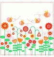 Lovely flowers vector image vector image