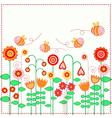 Lovely flowers vector image