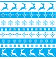 christmas ornament blue vector image