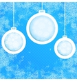 Grungy New Year Christmas background EPS8 vector image