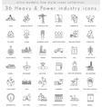 heavy and power industry ultra modern vector image