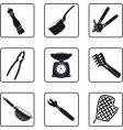 Kitchen supplies vector image