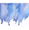 blue abstract watercolor on wet spot vector image vector image