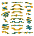 Decorative Ribbons Set vector image