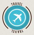 travel design vector image
