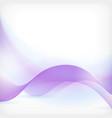 Blue purple wave background vector image vector image