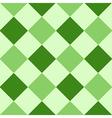 Green Leaf Diamond Chessboard Background vector image