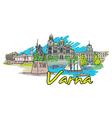 varna doodles vector image vector image
