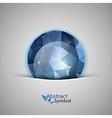 Blue Ball vector image