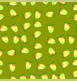 ripe mango fruit seamless pattern vector image