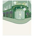 Street Shop View vector image