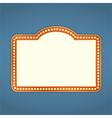 Retro Banner vector image