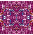 Abstract festive ethnic tribal pattern vector image
