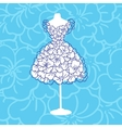 Dress mannequins vector image