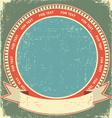 Vintage label background vector image