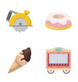 zoo business cooking and other web icon in vector image
