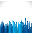 blue building stock background vector image