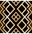 Art Deco style seamless pattern abstract vector image