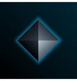 Blue Pyramid vector image vector image