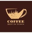 Best Coffee vector image