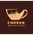 Best Coffee vector image