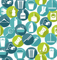 Cleaning background vector image