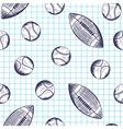 School seamless vector image