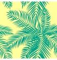 Beautifil Palm Tree Leaf Silhouette Seamless vector image