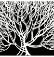 Stylized abstract tree Art vector image vector image
