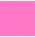 Seamless Sweet Candy Hearts Pattern vector image