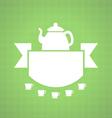 Teahouse design vector image