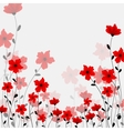 tall poppys vector image vector image