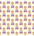Baby kid seamless pattern vector image