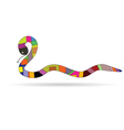 new 2013 year with snake vector image